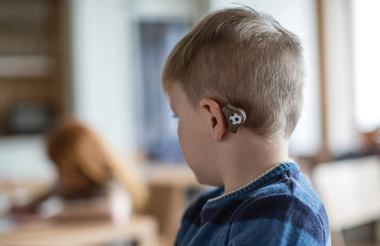 Non-surgical option for hearing loss