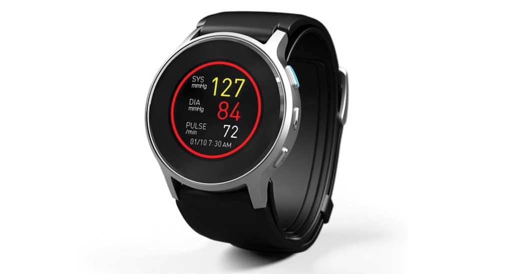 Wearable BP monitor  HeartGuide launched in US