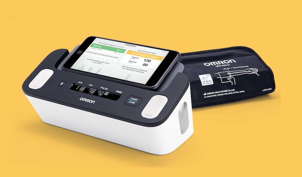 Omron introduces home BP monitor with EKG capability