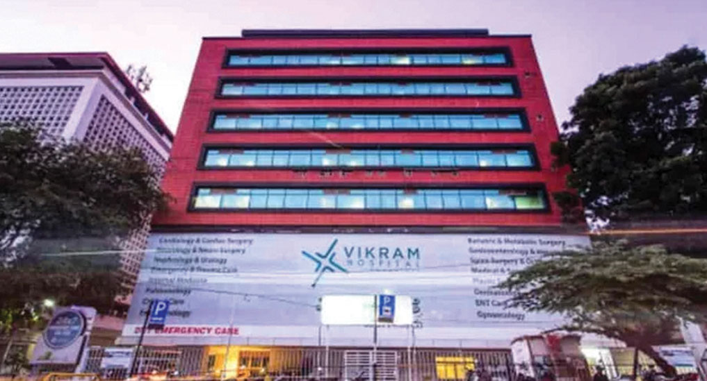 Manipal buys out 100% stake in Vikram Hospital